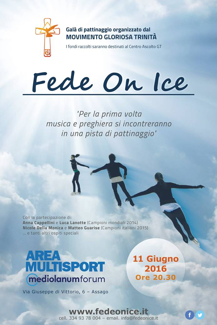 FEDE ON ICE: SABATO 11 GIUGNO 2016 - FORUM ASSAGO (MI)